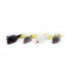 Игр. КТ мишка дългокосместа 5 см T-1-055