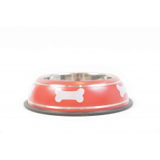 Купичка куче метал червена